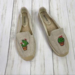 Soludos Canvas Cactus Embroidered Espadrilles